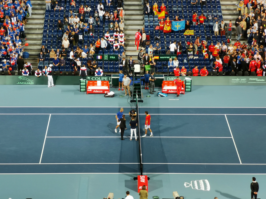 Richard Gasquet and Marcel Granollers