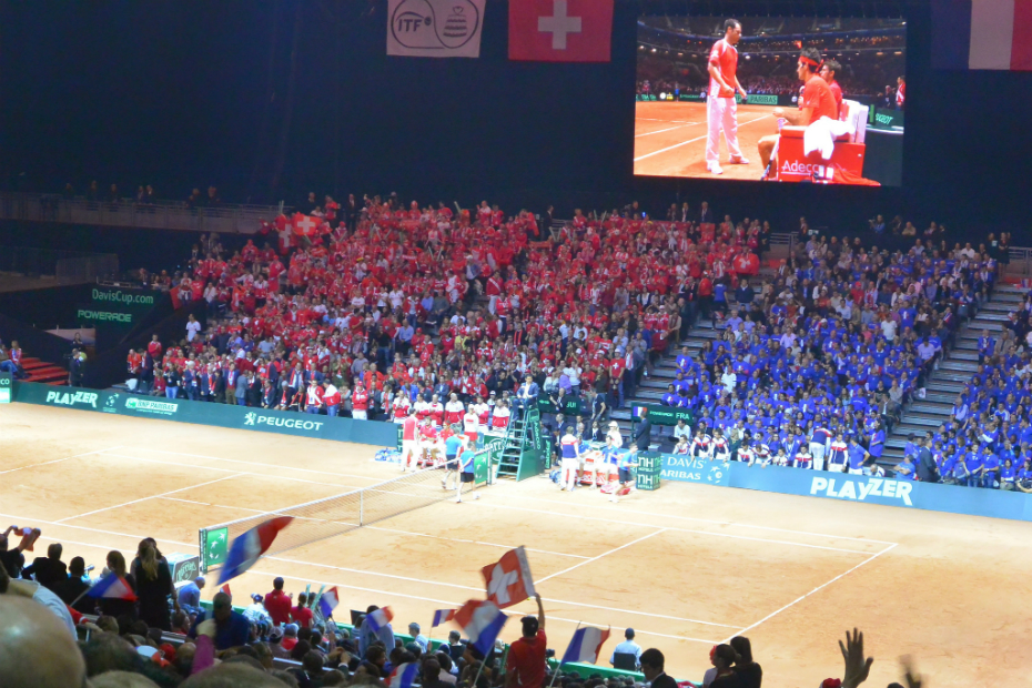 2014 Davis Cup, France vs Switzerland