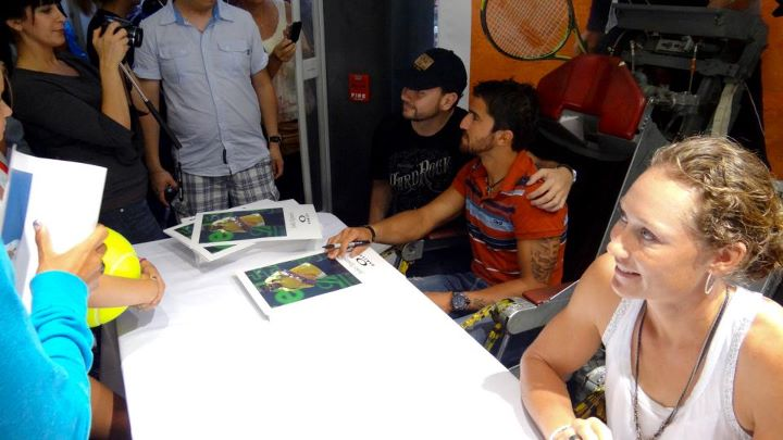 Sam Stosur and janko Tipsarevic - Oakley Store NYC