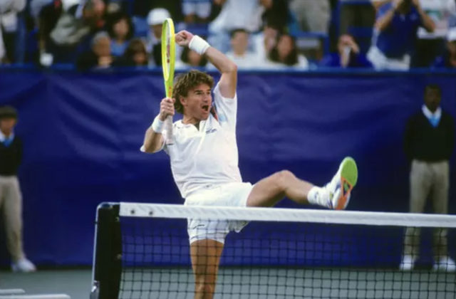 Jimmy Connors, 1991 US Open