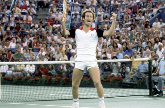 John McEnroe, 1981 US Open champion