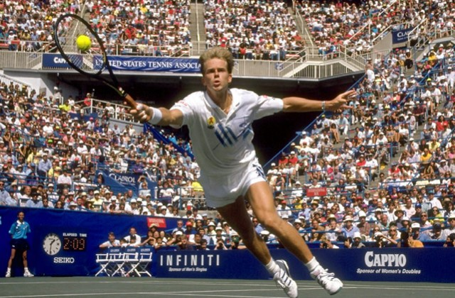 1992 US Open champion Stefan Edberg