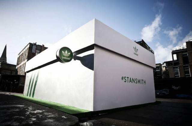 fast delivery best place various design adidas shoe box pop-up store in London | Tennis Buzz