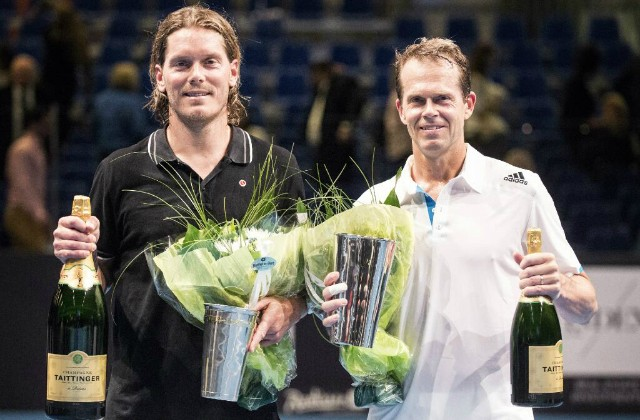 Thomas Enqvist and Stefan Edberg, Kings of Tennis, Stockholm