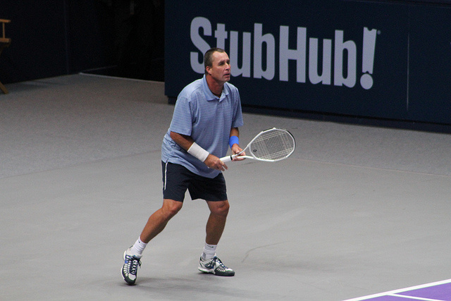 World Tennis Day London Showdown: Pat Cash vs Ivan Lendl