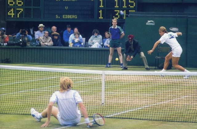 Tennis edberg nasta for svensson
