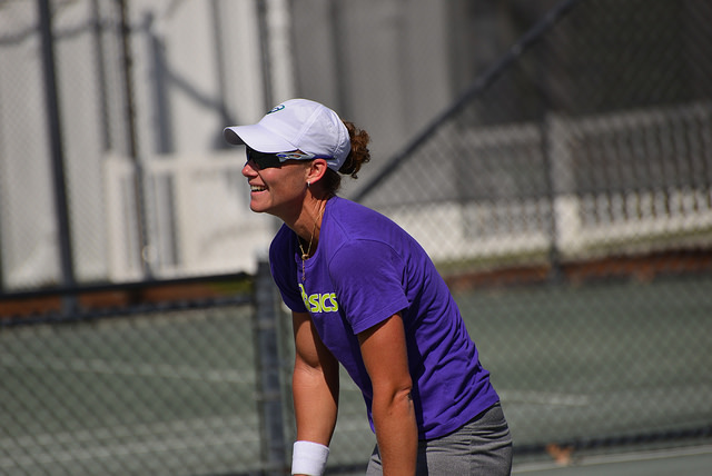 2014 Family Circle Cup: Sam Stosur at practice