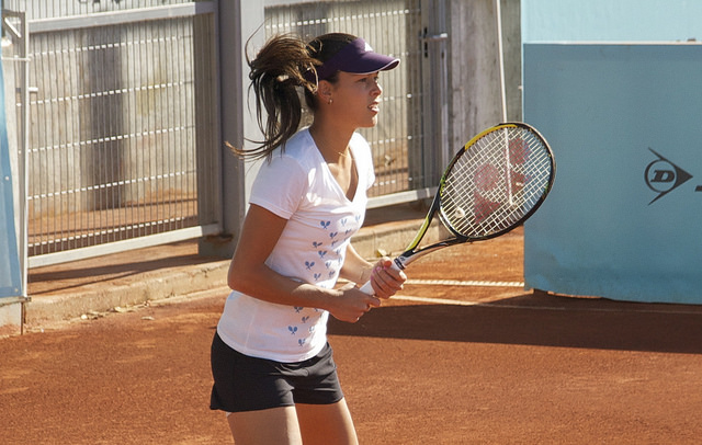 Mutua Madrid Open 2014: Ana Ivanovic at practice