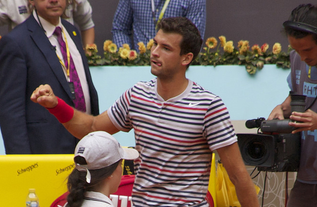 Mutua Madrid Open 2014: Dimitrov defeats Copil
