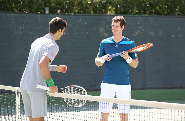Andy Murray and Novak Djokovic HEAD commercial