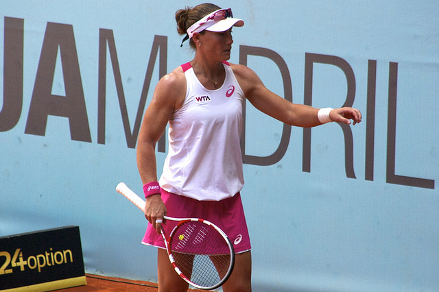 Mutua Madrid Open 2014: Stosur vs Muguruza