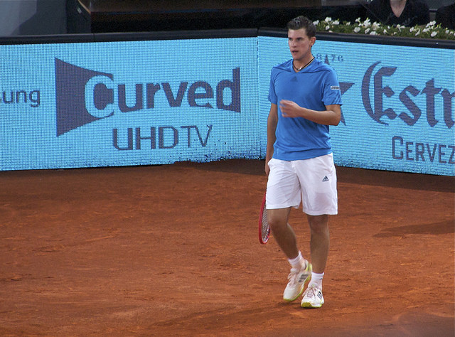 Mutua Madrid Open 2014: Thiem defeats Wawrinka