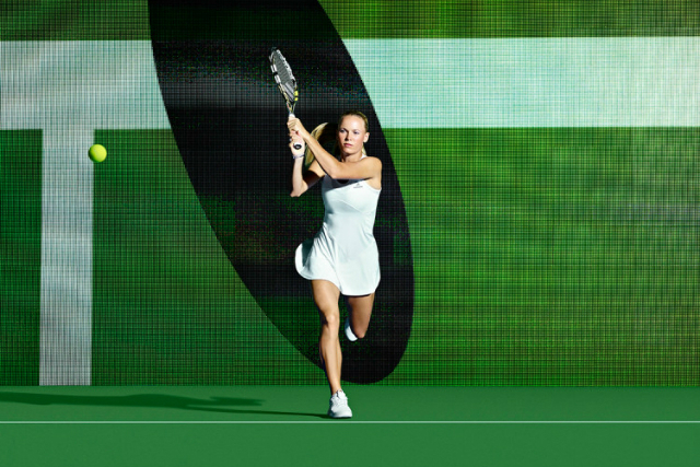 Wimbledon 2014: Wozniacki and Petkovic adidas outfits