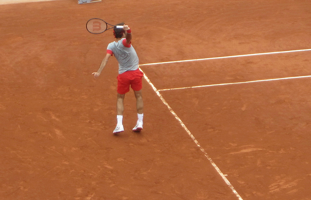 Around the grounds at Roland Garros - day eight: Gasquet, Federer, Djokovic...