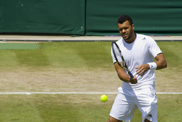 Wimbledon 2014 day 5: Jo-Wilfried Tsonga defeats Jimmy Wang