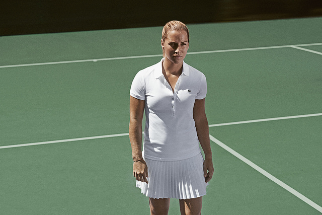 Lacoste players Wimbledon 2014 outfits