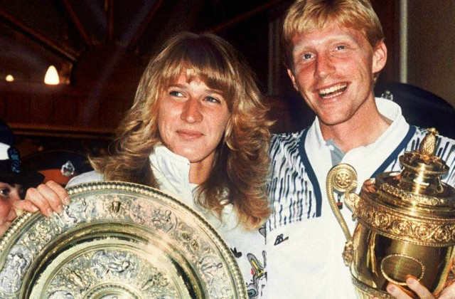 Steffi Graf and Boris Becker, Wimbledon 1989