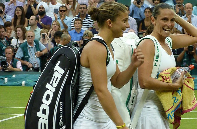 Sara Errani and Roberta Vinci