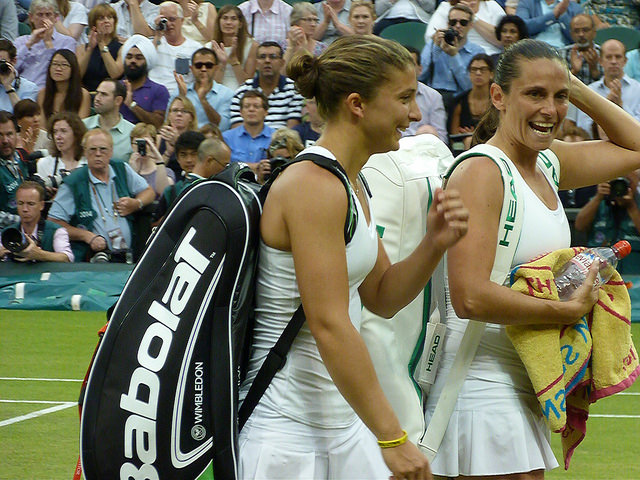 Wimbledon 2014: Errani and Vinci win women's doubles title