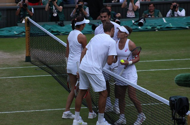 Stosur and Zimonjic win Wimbledon mixed doubles final