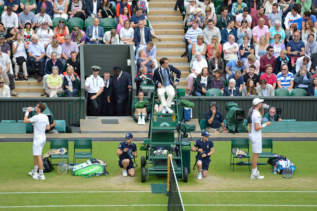 Wimbledon 2014 day 7: Andy Murray defeats Kevin Anderson