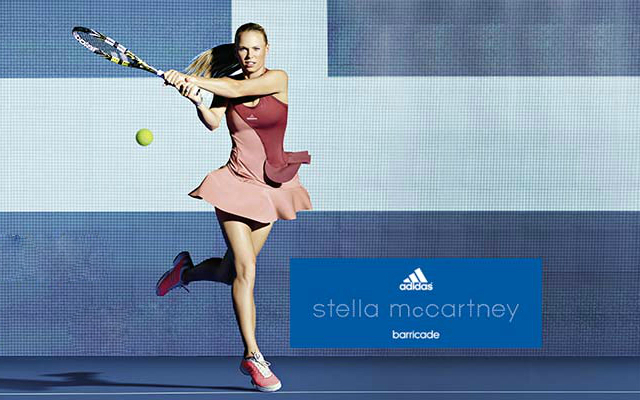 Caroline Wozniacki 2014 US Open dress by Stella McCartney