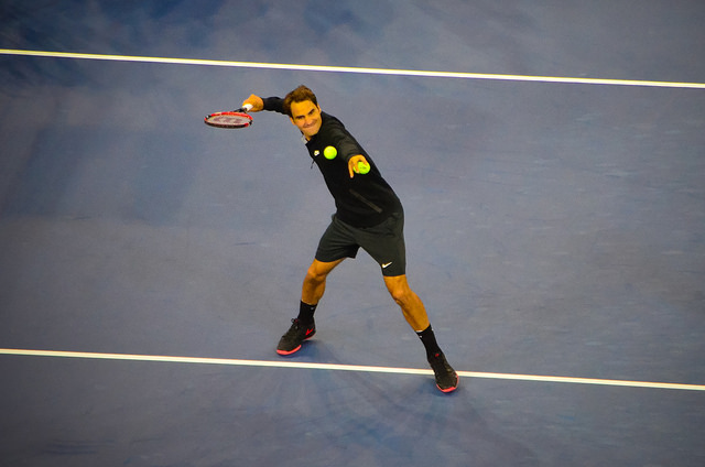 2014 US Open 2nd round: Federer defeats Sam Groth