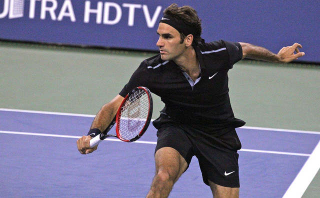 2014 US Open 1st round: Federer defeats Matosevic