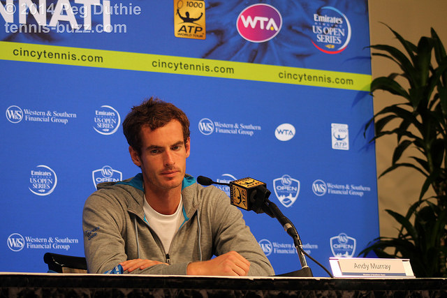 2014 Western & Southern Open: press conferences pictures
