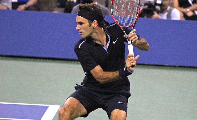 Roger Federer 2014 US Open outfit