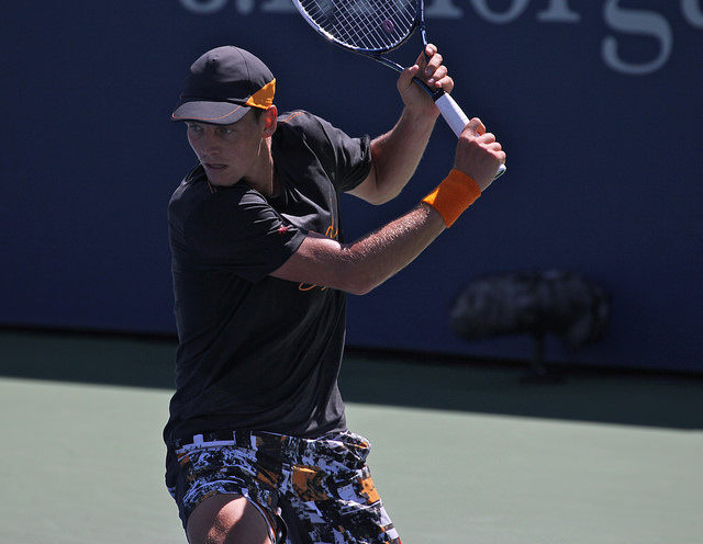 2014 US Open: Tomas Berdych H&M collection
