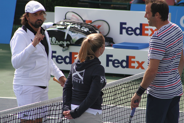 Optima Open 2014: Henri Leconte vs Greg Rusedski