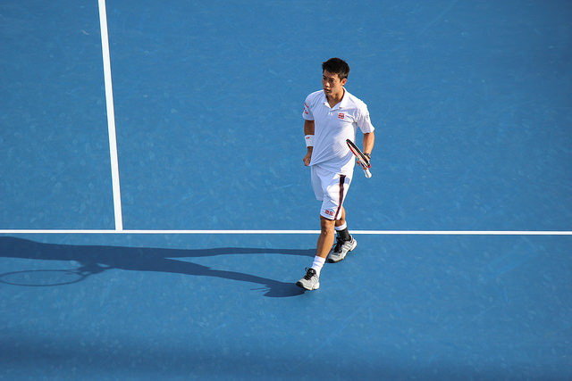 Kei Nishikori and Marin Cilic roads to the 2014 US Open final