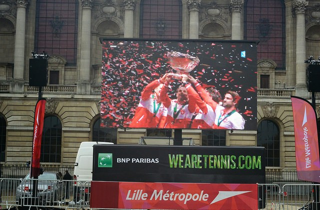 Swiss win the Davis Cup