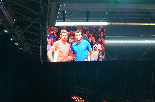 Wawrinka and Tsonga, Davis Cup final 2014