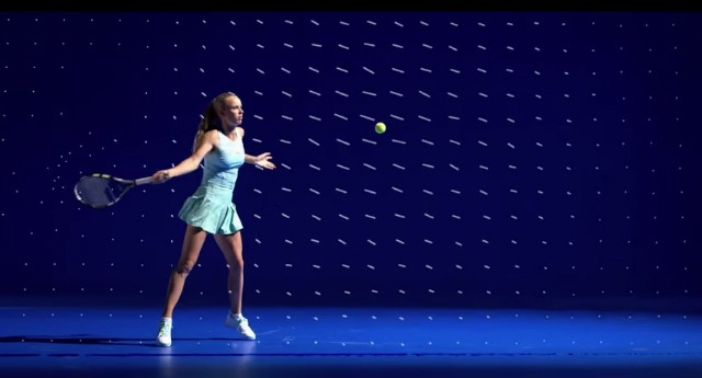 Caroline Wozniacki Australian Open 2015 dress by Stella McCartney