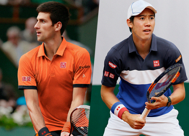 Roland Garros 2015: Djokovic and Nishikori Uniqlo outfit