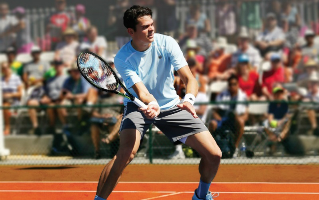 Roland Garros 2015: Milos Raonic New Balance outfit
