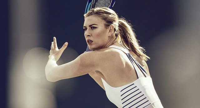 Maria Sharapova Roland Garros 2015 dress