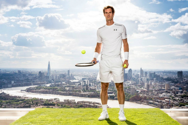 Wimbledon 2015: Andy Murray Under Armour outfit