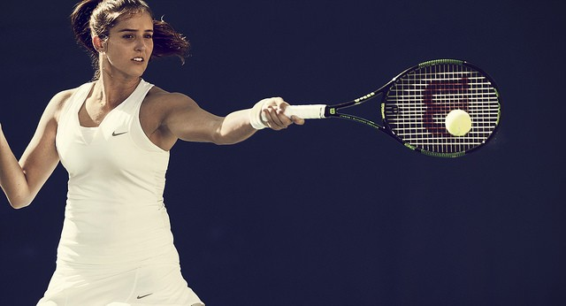 Laura Robson Wimbledon 2015 outfit