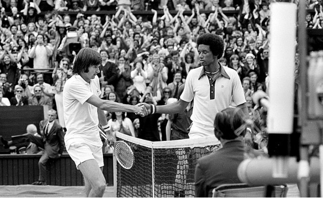 Ashe vs Connors, Wimbledon 1975
