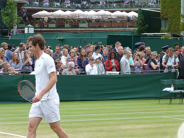 Wimbledon 2015: Andy Murray at practice