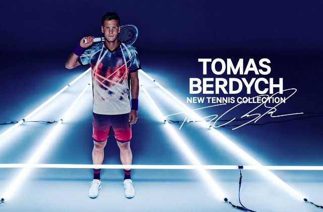 Tomas Berdych H&M outfit