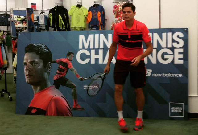2015 US Open: Milos Raonic New Balance outfit