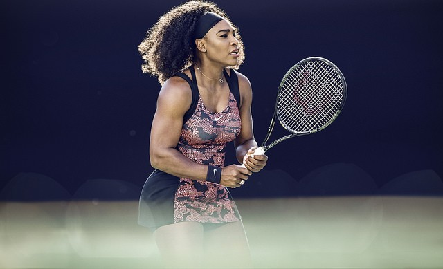 Serena 2015 US Open Nike dress