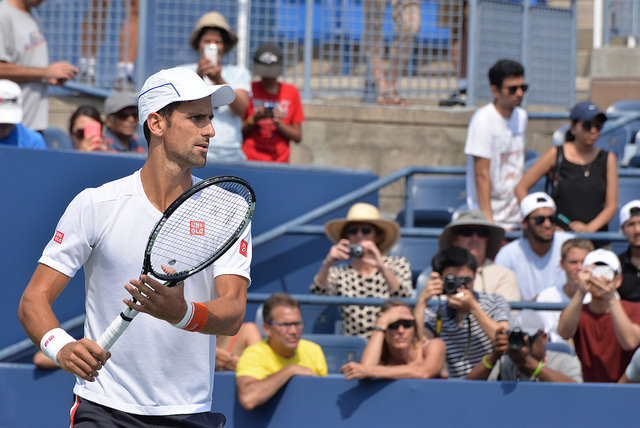 Djokovic and Federer roads to the 2015 US Open final