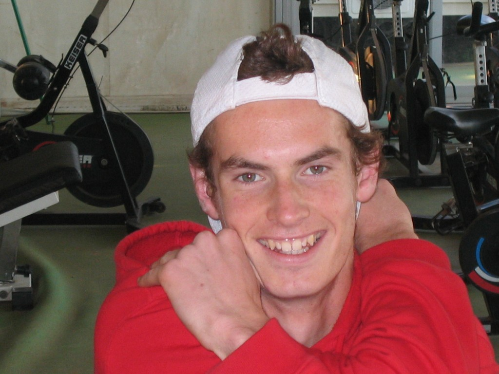 Back in 2004: Andy Murray at the Sanchez Casal Academy