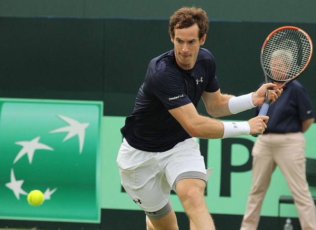 Davis Cup 2015 QF: Andy Murray defeats Tsonga