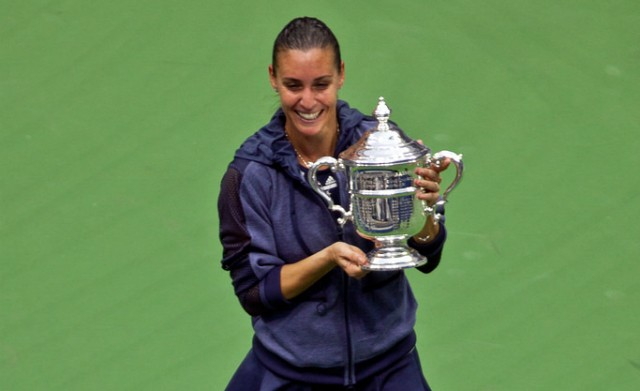 2015 US Open champion Flavia Pennetta